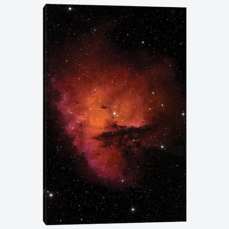 Bok Globules In NGC 281 Canvas Print #TRK1434} by Stocktrek Images Canvas Art