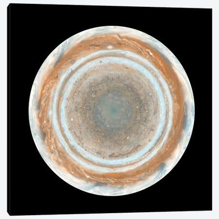 Color Map Of Jupiter II Canvas Print #TRK1442} by Stocktrek Images Canvas Art