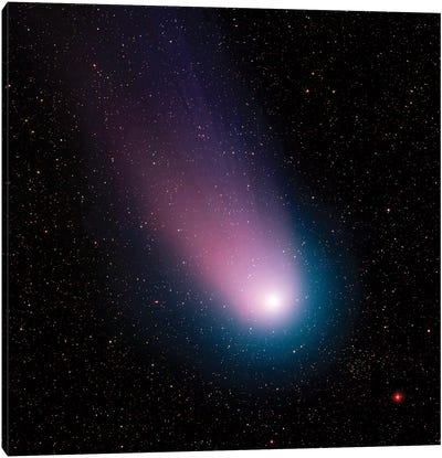 Image Of Comet C/2001 Q4 (Neat) Canvas Art Print