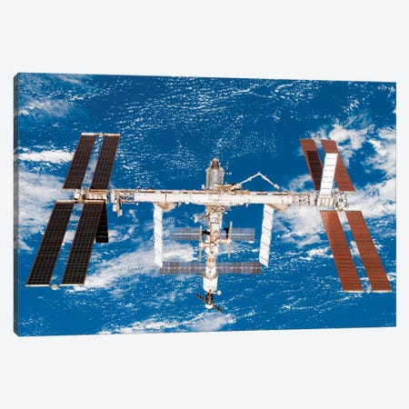 International Space Station II Canvas Print #TRK1502} by Stocktrek Images Canvas Print