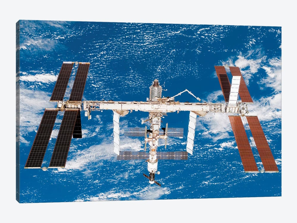 International Space Station II by Stocktrek Images 1-piece Canvas Art Print