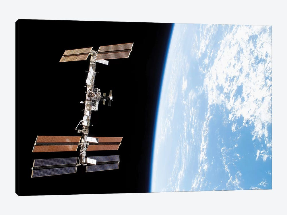 International Space Station III by Stocktrek Images 1-piece Canvas Artwork