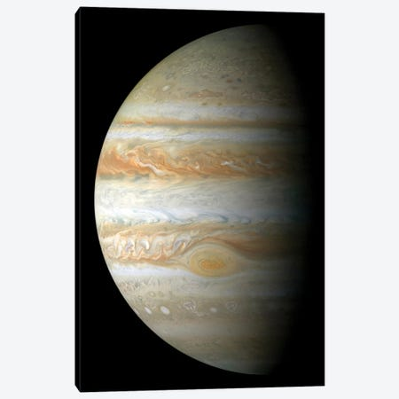 Jupiter Mosaic Canvas Print #TRK1506} by Stocktrek Images Canvas Art
