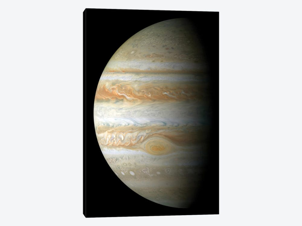 Jupiter Mosaic 1-piece Canvas Art Print