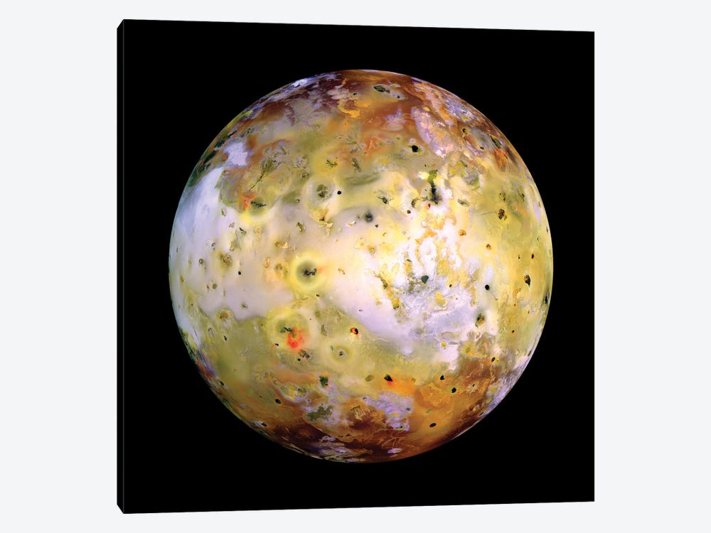 Jupiter's Moon Io by Stocktrek Images 1-piece Canvas Wall Art