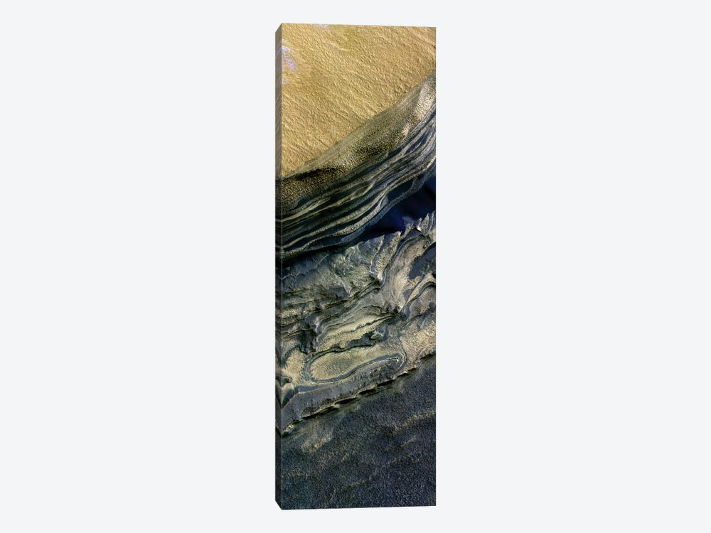 Layers Exposed At Polar Canyon by Stocktrek Images 1-piece Canvas Wall Art