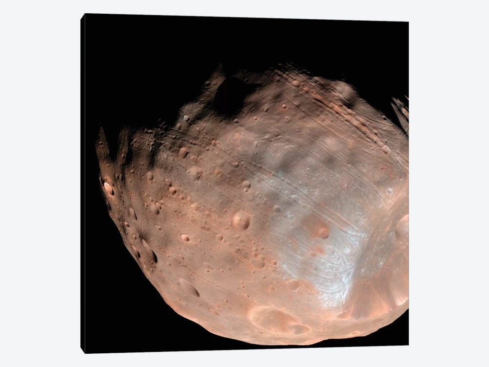 Mars Moon Phobos I by Stocktrek Images 1-piece Canvas Artwork