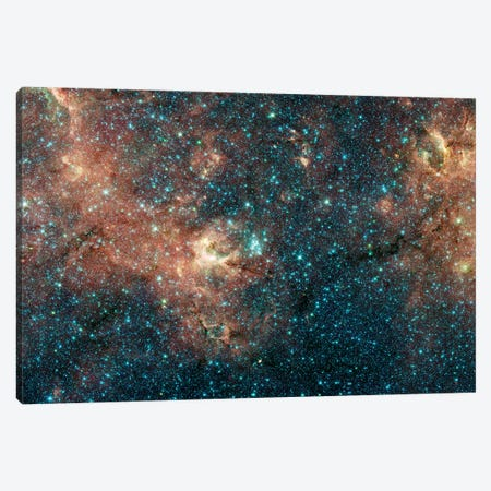Massive Star Cluster Canvas Print #TRK1523} by Stocktrek Images Canvas Art Print