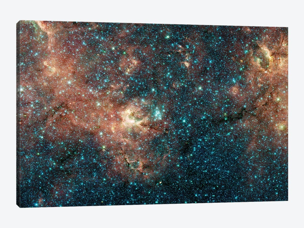 Massive Star Cluster by Stocktrek Images 1-piece Canvas Artwork