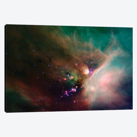 Rho Ophiuchi Nebula Canvas Print #TRK1543} by Stocktrek Images Art Print