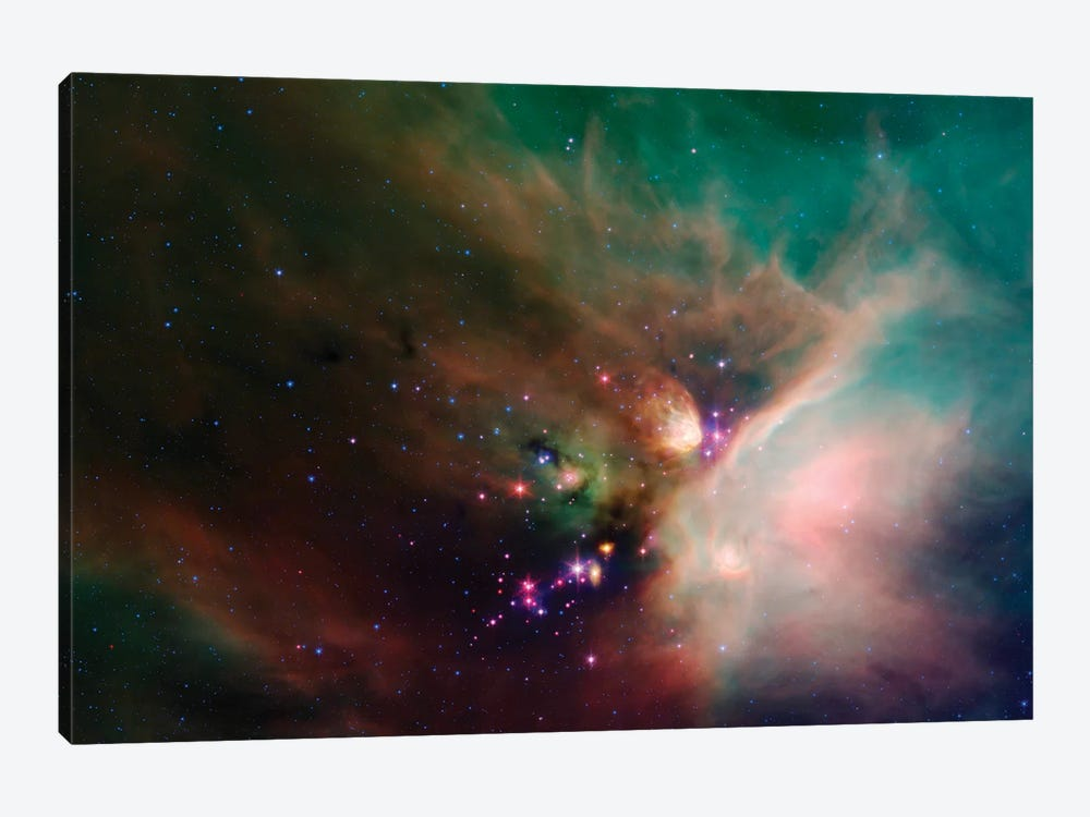 Rho Ophiuchi Nebula by Stocktrek Images 1-piece Canvas Artwork