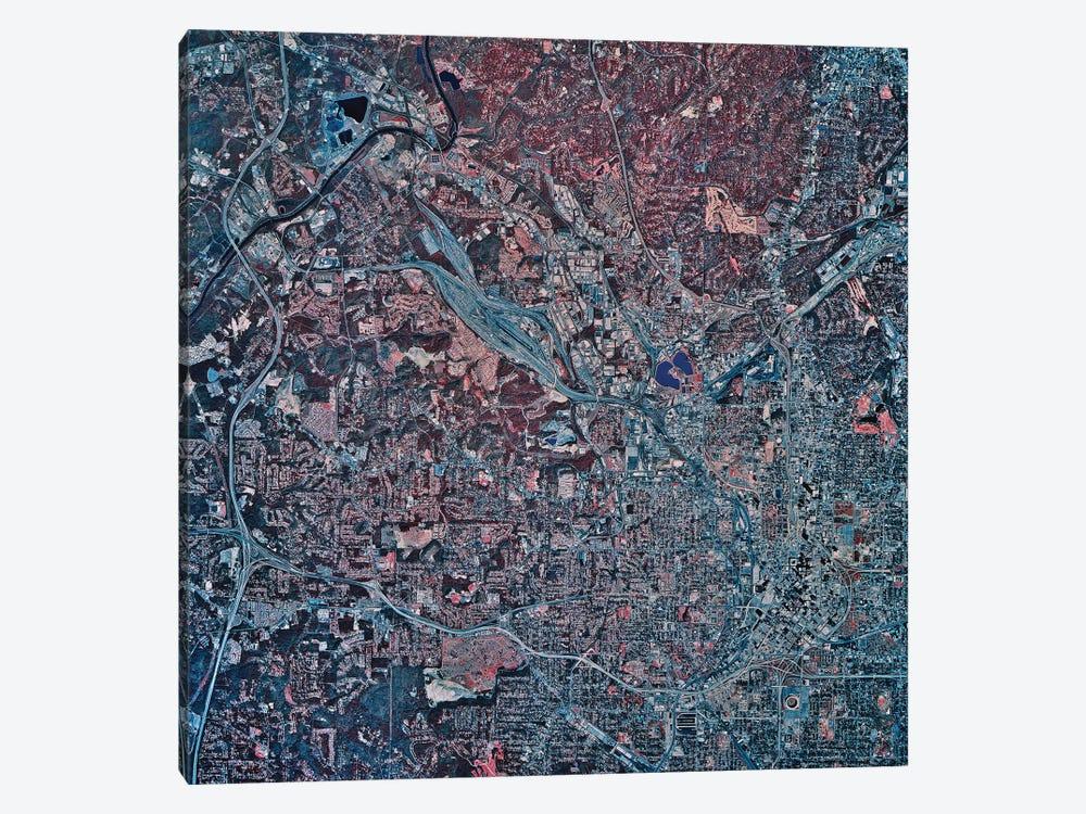 Atlanta, Georgia by Stocktrek Images 1-piece Canvas Art
