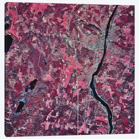 Augusta, Maine Canvas Print #TRK1551} by Stocktrek Images Canvas Art