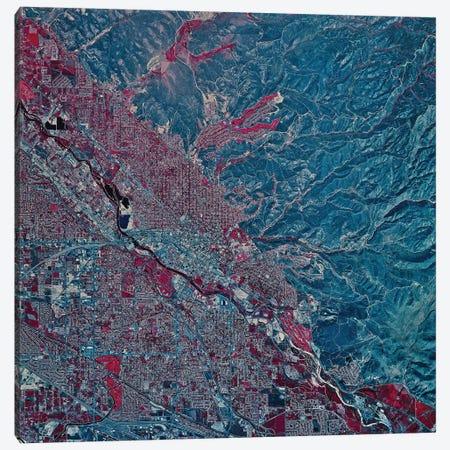 Boise, Idaho Canvas Print #TRK1557} by Stocktrek Images Canvas Art Print