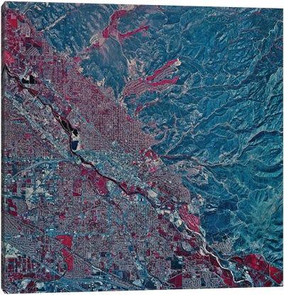 Boise, Idaho Canvas Art Print