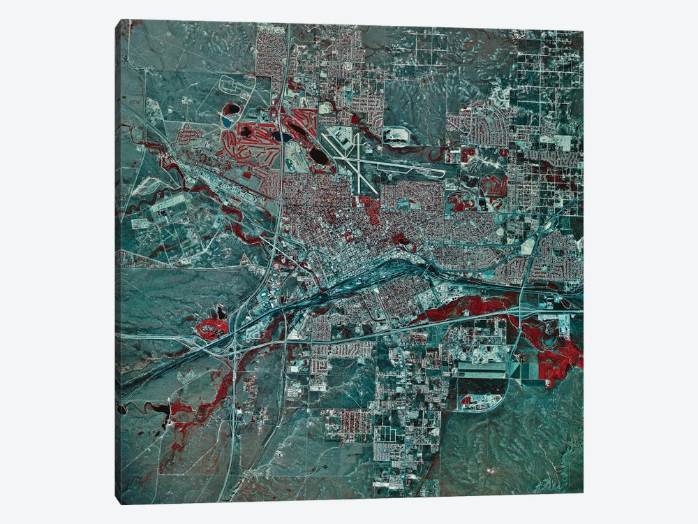 Cheyenne, Wyoming 1-piece Canvas Artwork