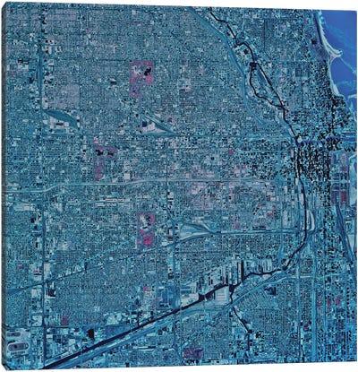 Chicago, Illinois Canvas Art Print