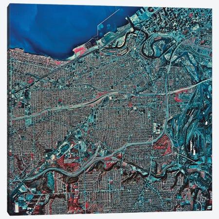 Cleveland, Ohio Canvas Print #TRK1565} by Stocktrek Images Canvas Artwork