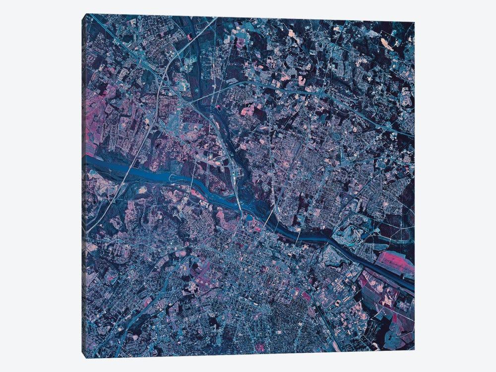 Columbia, South Carolina by Stocktrek Images 1-piece Canvas Artwork