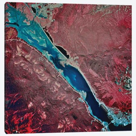 Gastineau Channel And Juneau, Alaska Canvas Print #TRK1574} by Stocktrek Images Canvas Art Print