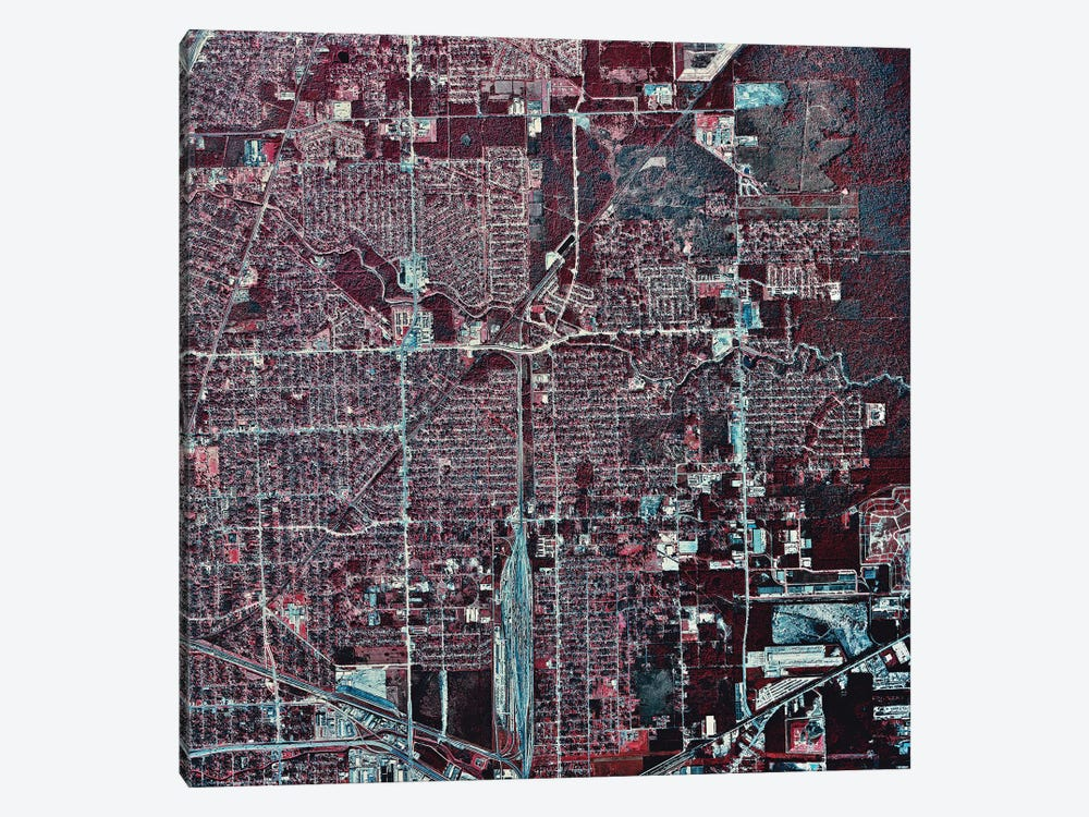 Houston, Texas II by Stocktrek Images 1-piece Canvas Artwork