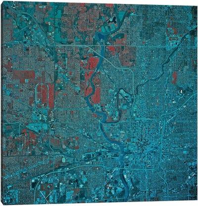 Indianapolis, Indiana Canvas Art Print