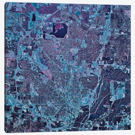 Jackson, Mississippi Canvas Print #TRK1581} by Stocktrek Images Art Print