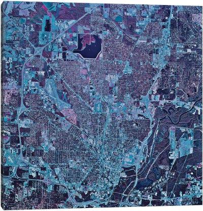 Jackson, Mississippi Canvas Art Print