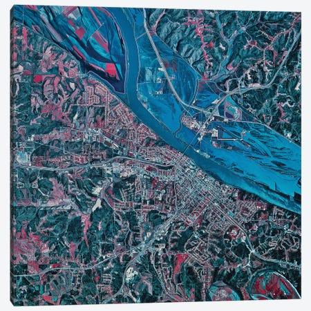 Jefferson City, Missouri Canvas Print #TRK1583} by Stocktrek Images Canvas Art Print