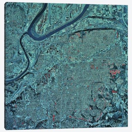 Kansas City, Missouri Canvas Print #TRK1584} by Stocktrek Images Canvas Art