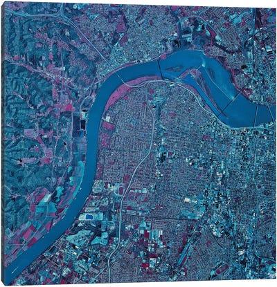 Louisville, Kentucky Canvas Art Print