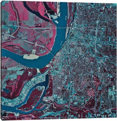 Memphis, Tennessee I Canvas Art Print