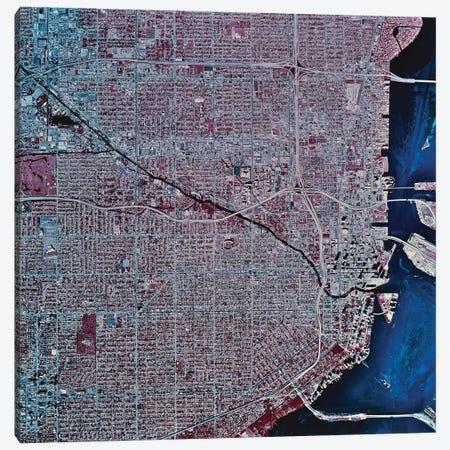 Miami, Florida Canvas Print #TRK1594} by Stocktrek Images Canvas Art Print