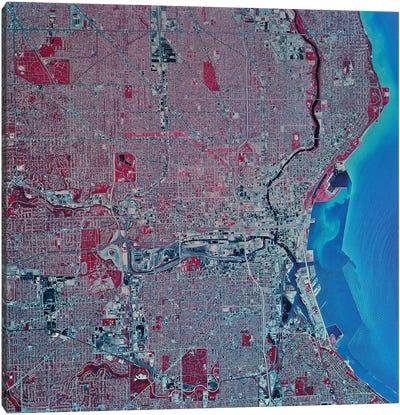 Milwaukee, Wisconsin Canvas Art Print