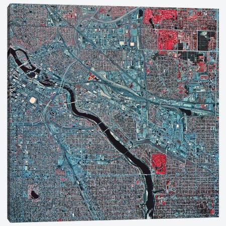 Minneapolis, Minnesota I 3-Piece Canvas #TRK1596} by Stocktrek Images Art Print