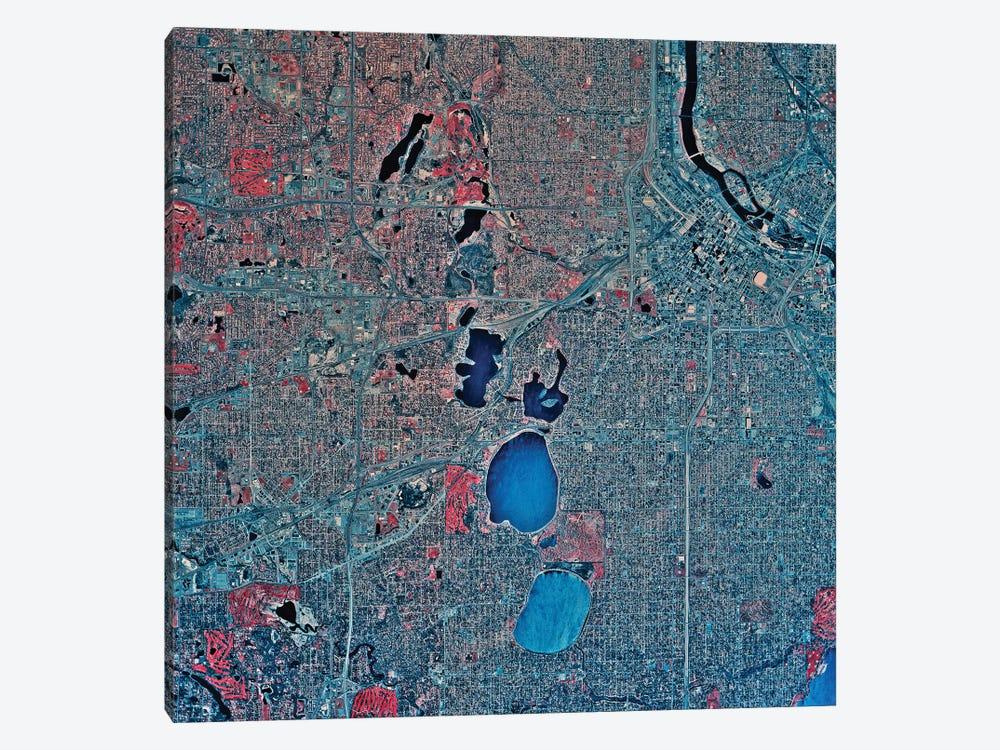 Minneapolis, Minnesota II by Stocktrek Images 1-piece Canvas Art Print