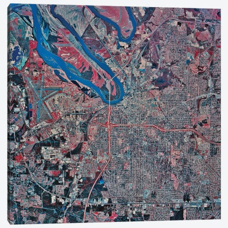 Montgomery, Alabama Canvas Print #TRK1598} by Stocktrek Images Canvas Wall Art