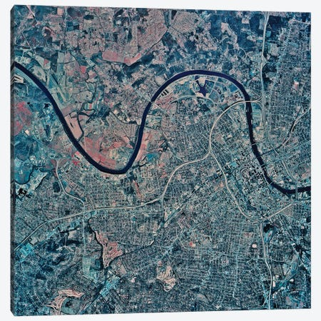 Nashville, Tennessee Canvas Print #TRK1601} by Stocktrek Images Canvas Art