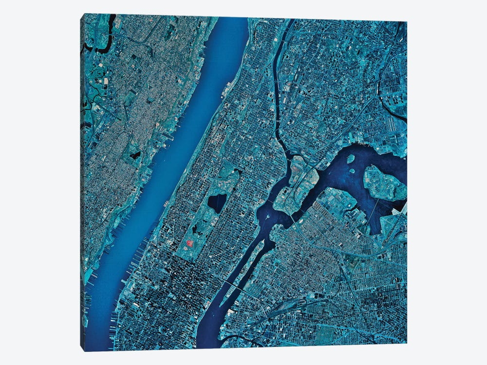 New York, New York III by Stocktrek Images 1-piece Canvas Wall Art