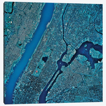 New York, New York III Canvas Print #TRK1605} by Stocktrek Images Canvas Print
