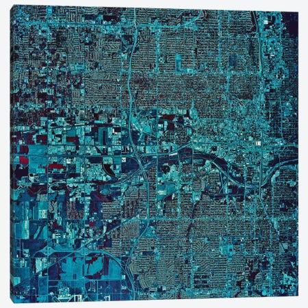 Oklahoma City, Oklahoma I Canvas Print #TRK1607} by Stocktrek Images Canvas Art Print