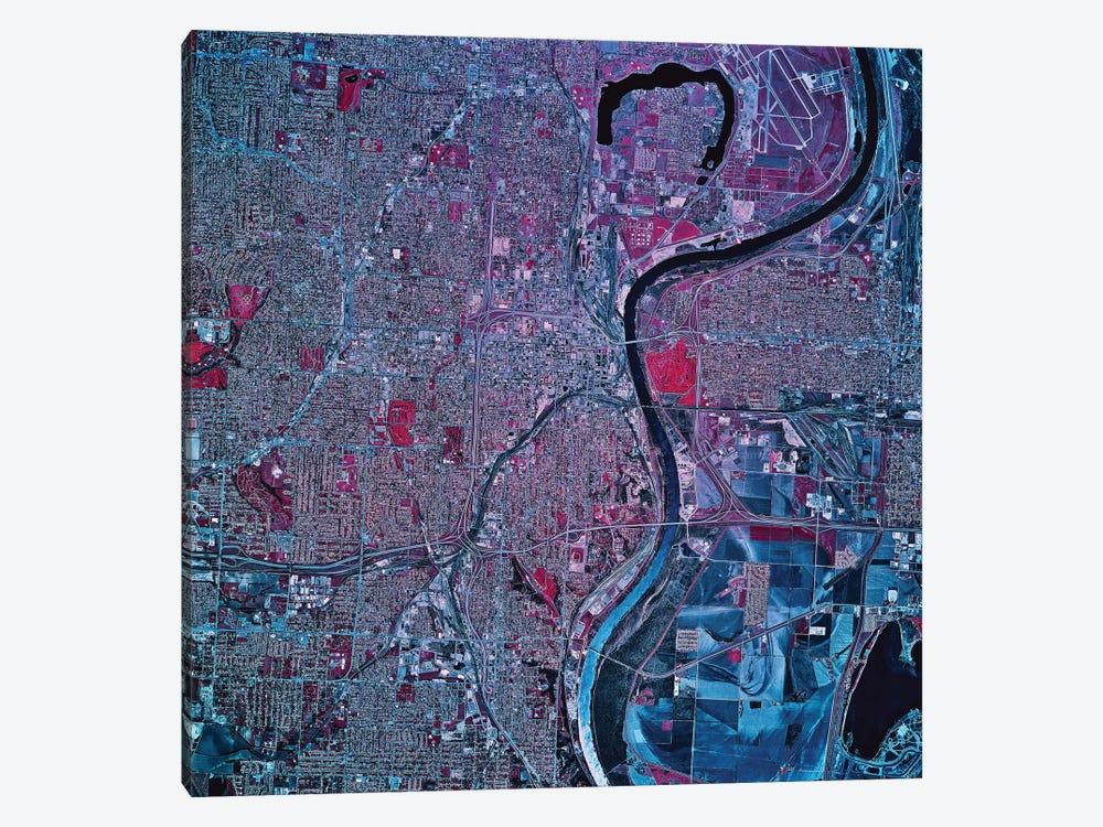 Omaha, Nebraska by Stocktrek Images 1-piece Canvas Wall Art