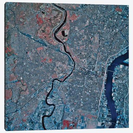 Philadelphia, Pennsylvania II Canvas Print #TRK1612} by Stocktrek Images Canvas Art Print