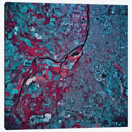 Salem, Oregon 3-Piece Canvas #TRK1620} by Stocktrek Images Canvas Art