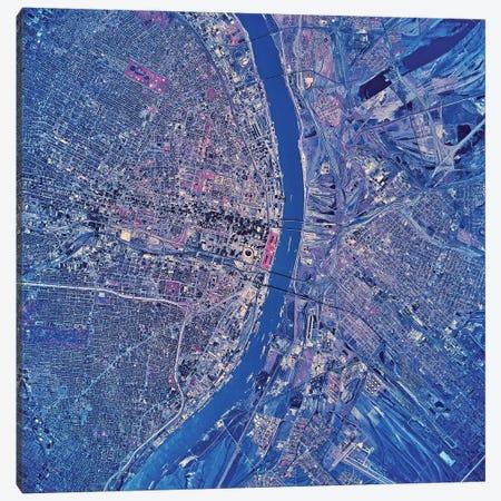 St. Louis, Missouri II Canvas Print #TRK1630} by Stocktrek Images Canvas Art Print
