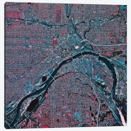 St. Paul, Minnesota I Canvas Print #TRK1631} by Stocktrek Images Art Print