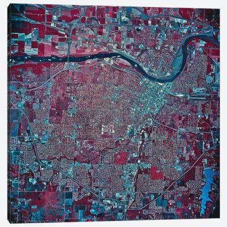 Topeka, Kansas Canvas Print #TRK1635} by Stocktrek Images Canvas Wall Art