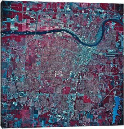 Topeka, Kansas Canvas Art Print