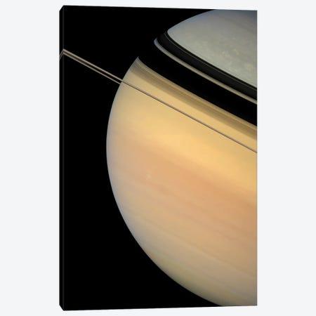 Saturn III Canvas Print #TRK1643} by Stocktrek Images Canvas Art