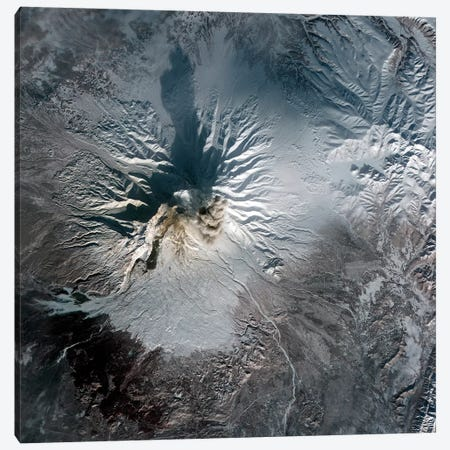 Shiveluch Volcano In Russia Canvas Print #TRK1650} by Stocktrek Images Canvas Print